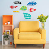 Word Bubble Wall Panels