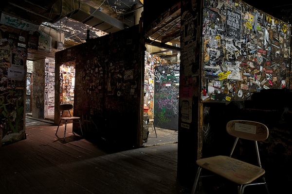 CBGB (Dressing Rooms)