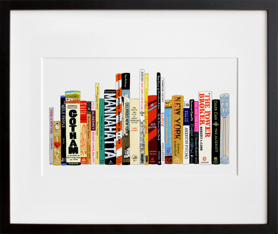Ideal Bookshelf 364: NYC