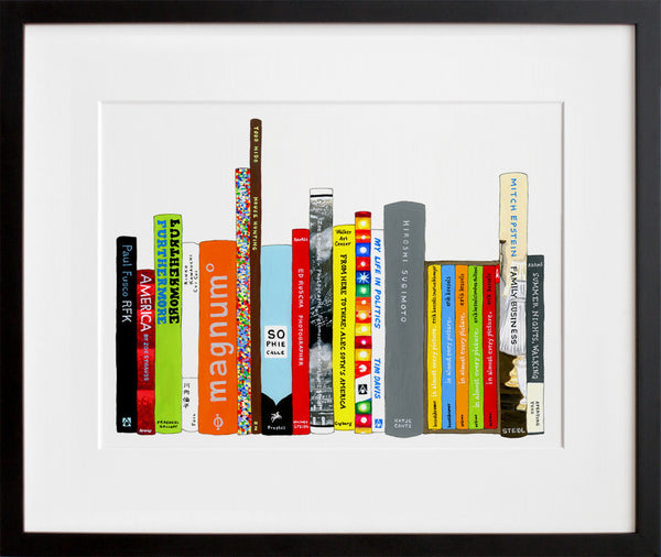 Ideal Bookshelf 367: Photography (framed + quick-ship)