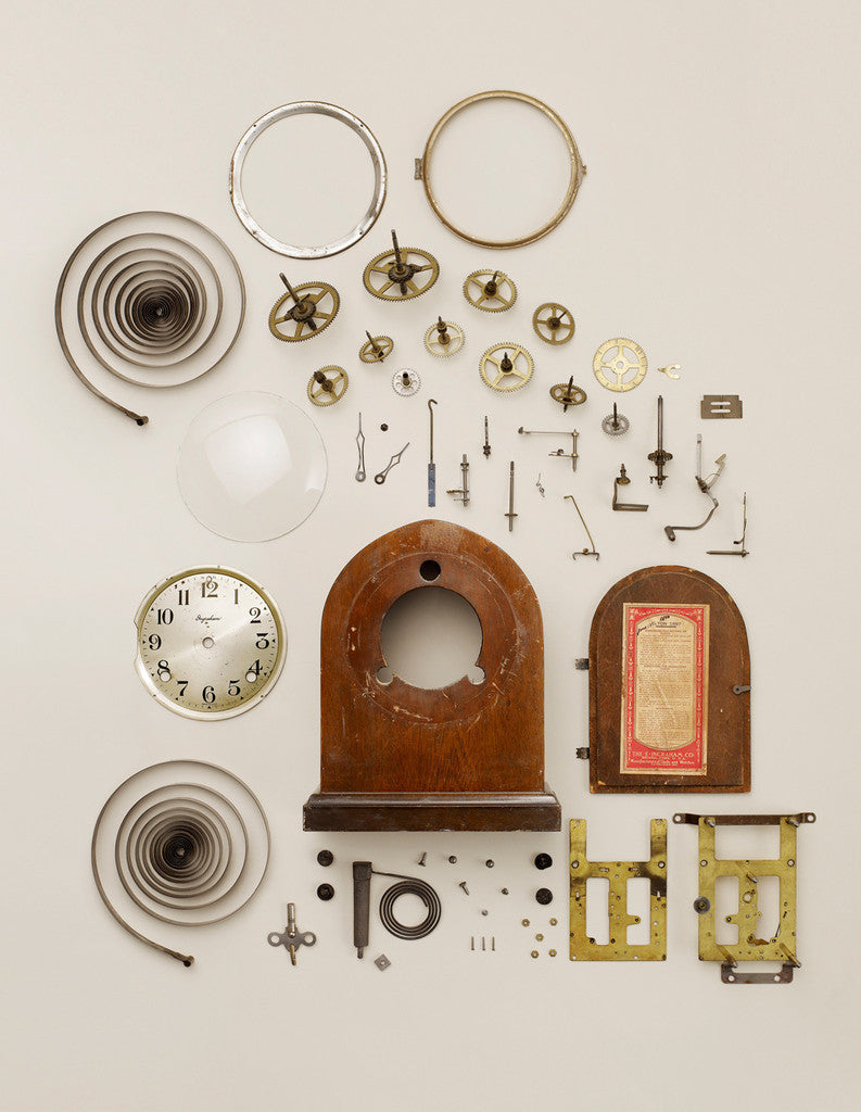 Todd McClellan - Old Wind Up Clock from 20x200