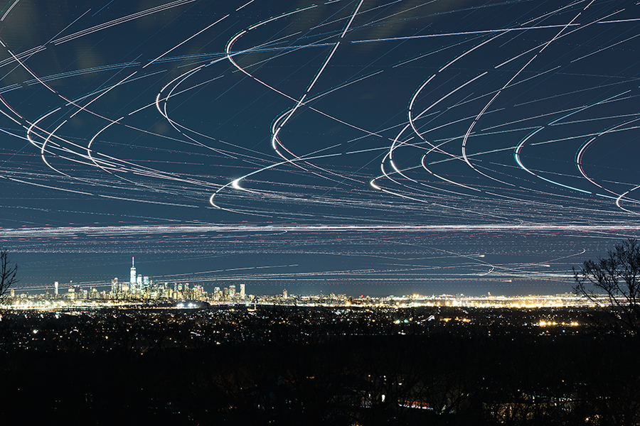 NYC Metro Air Traffic 3/18/18