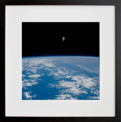 Views of the extravehicular activity during STS 41-B