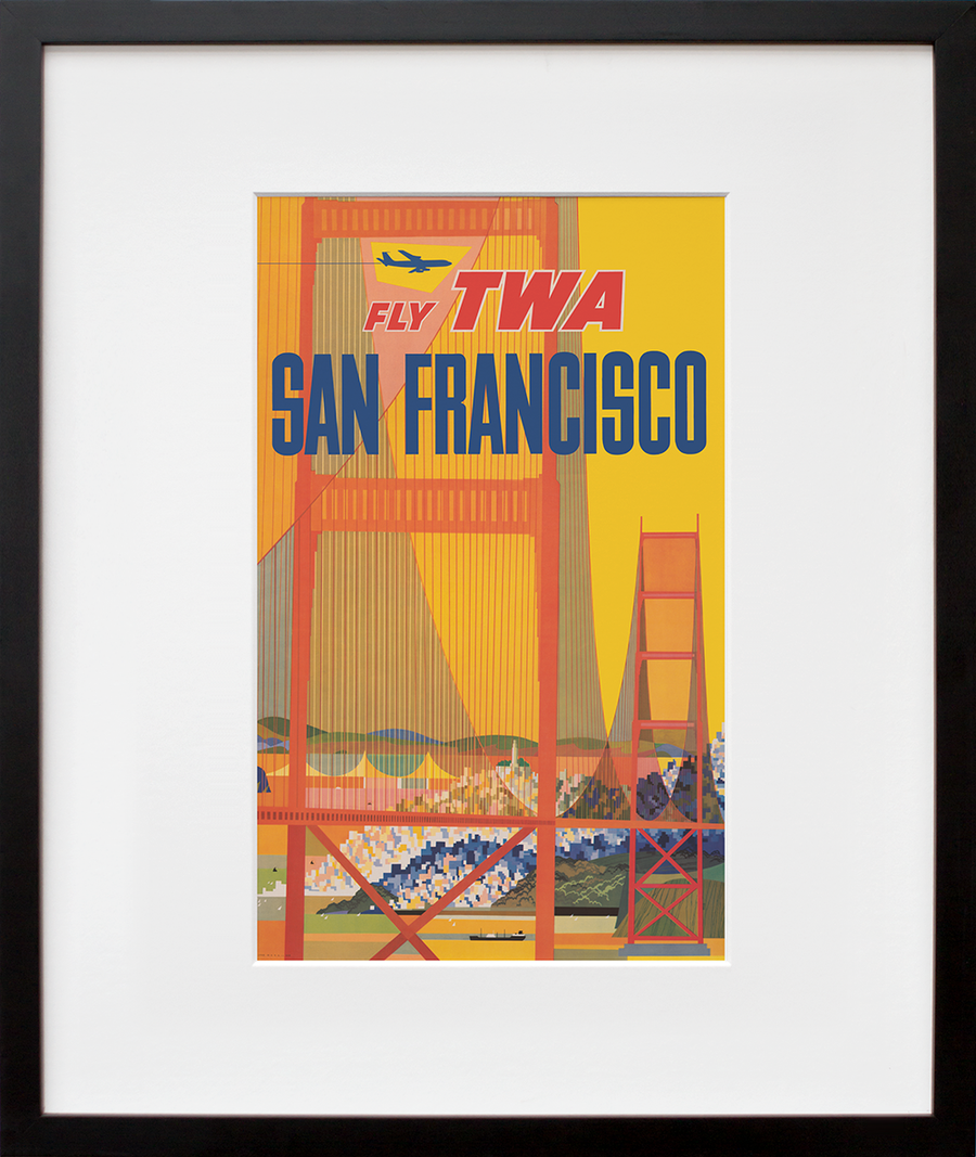 Fly TWA: San Francisco