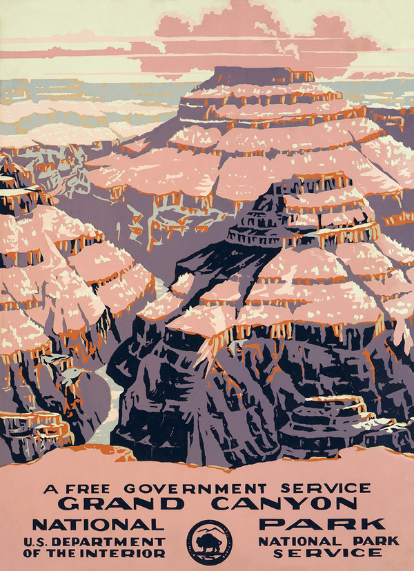 Grand Canyon National Park, a free government service