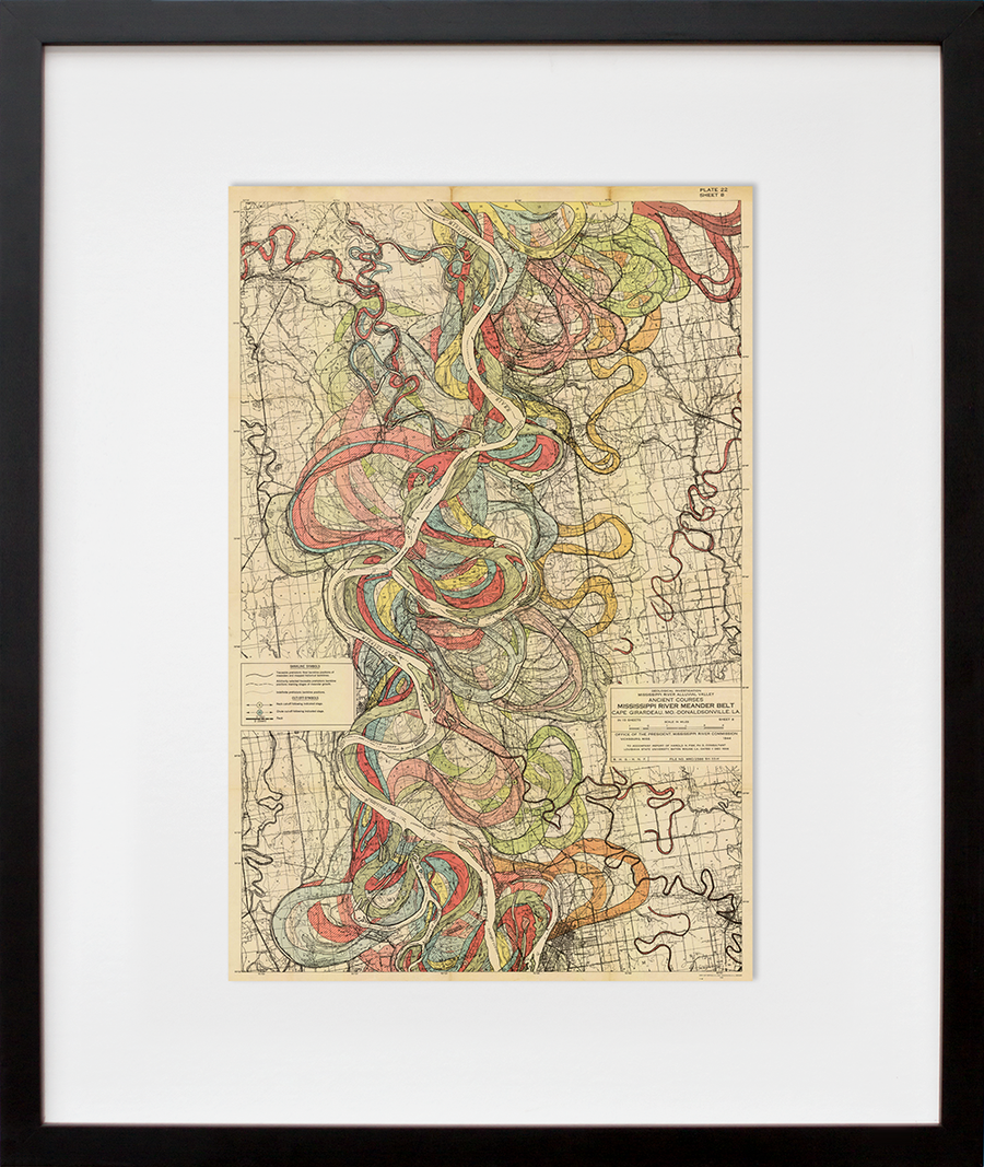 Plate 22, Sheet 8, Ancient Courses Mississippi River Meander Belt