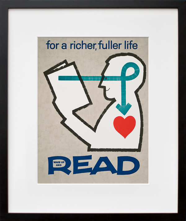 For a richer, fuller life wake up and read