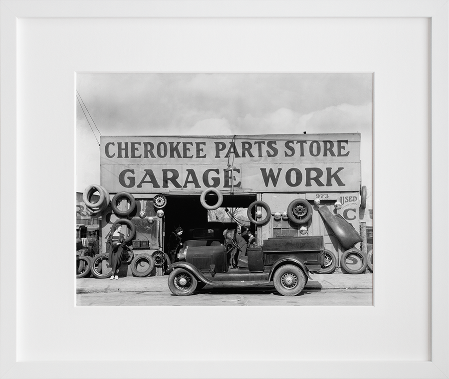 Auto parts shop. Atlanta, Georgia