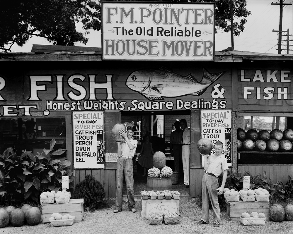 Roadside stand near Birmingham, Alabama