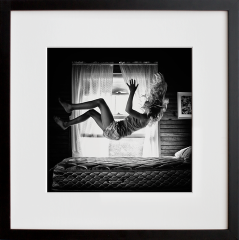 Lolie, Jumping on the Bed, 2013 (Framed + Ready to Ship)