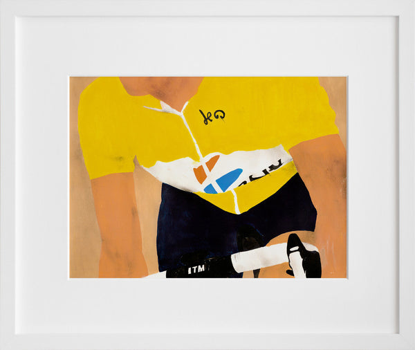 Le Tour (framed + quick-ship)