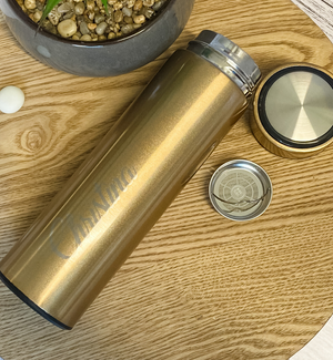 Personalised Insulated Bottles with Tea Infuser