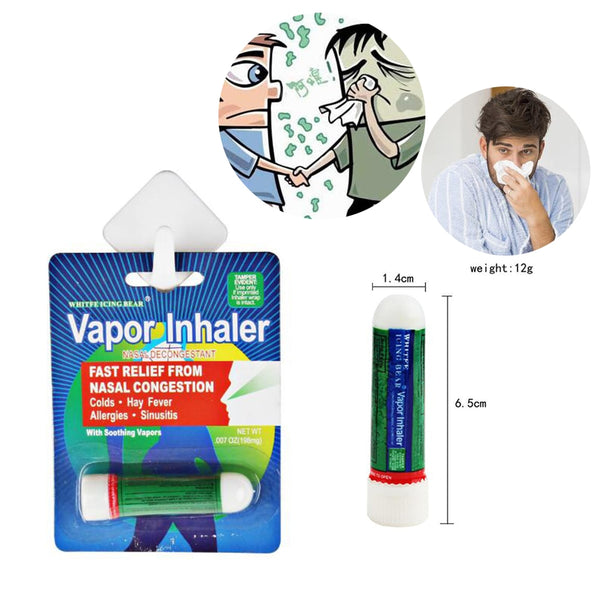 1PC Nasal Inhaler Poy Sian Mark 2 Ii Better Breathe Fast Relief From Nasal Congestion Colds / Hay Fever Allergies / Sinus   D148