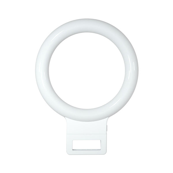 Selfie Ring Light for iPhone - USB Charge - LED - Works with iPhone X 8 7 Xs