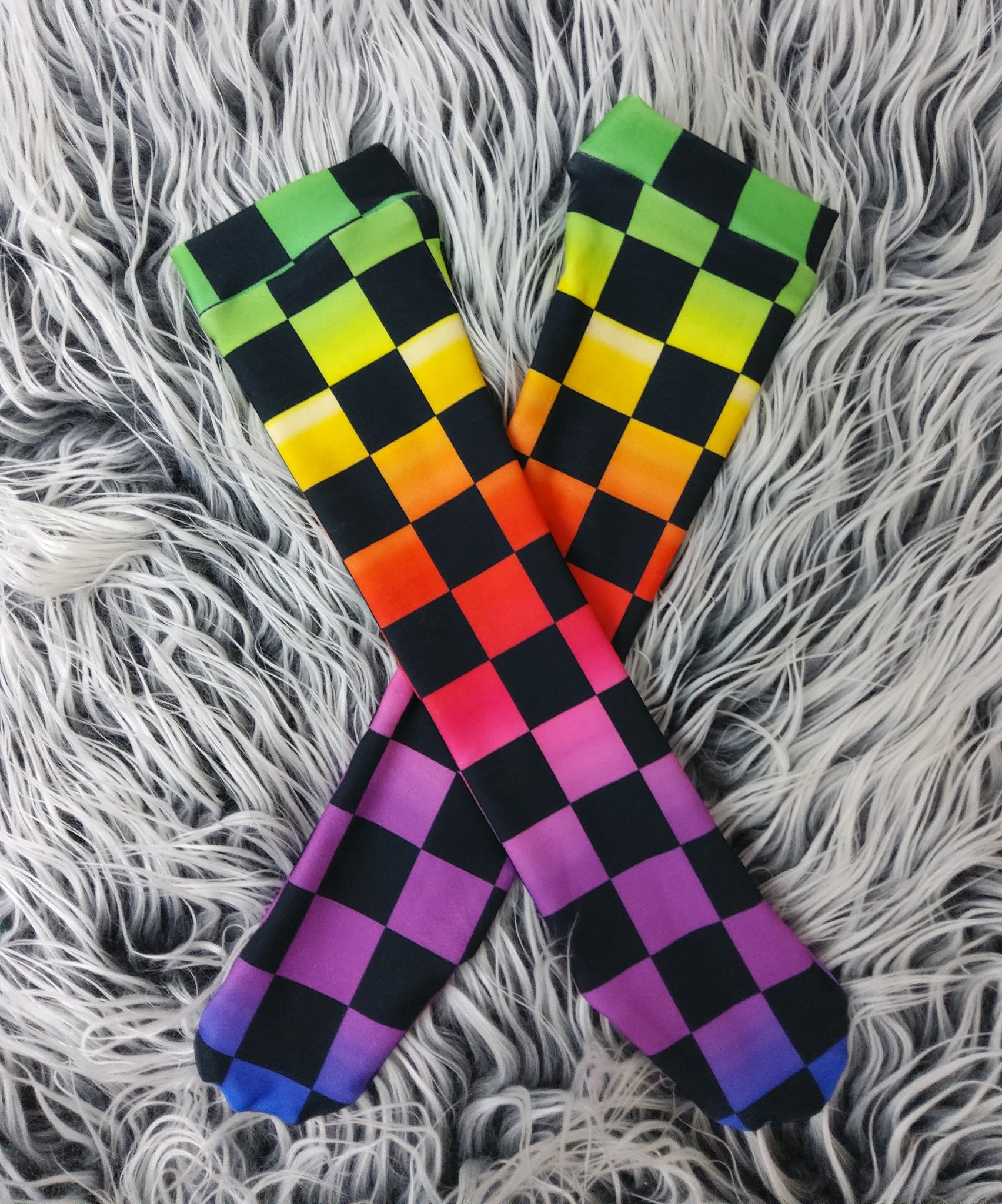 Rainbow chex - Socks