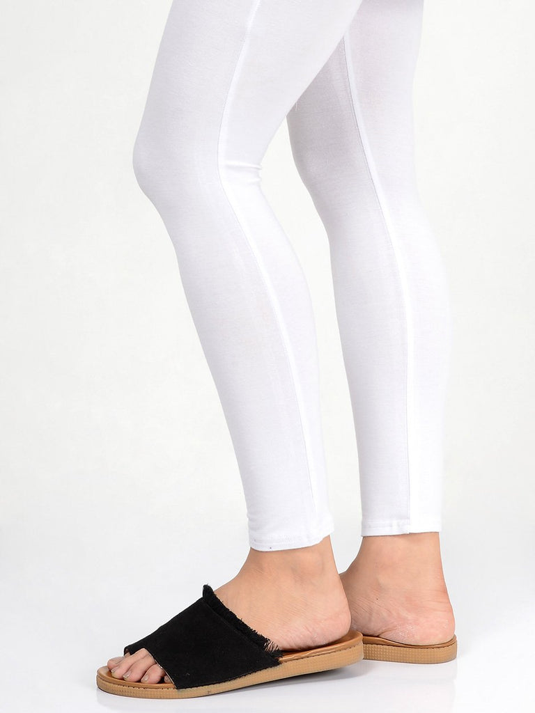 Stretchy Cotton Plain Tights