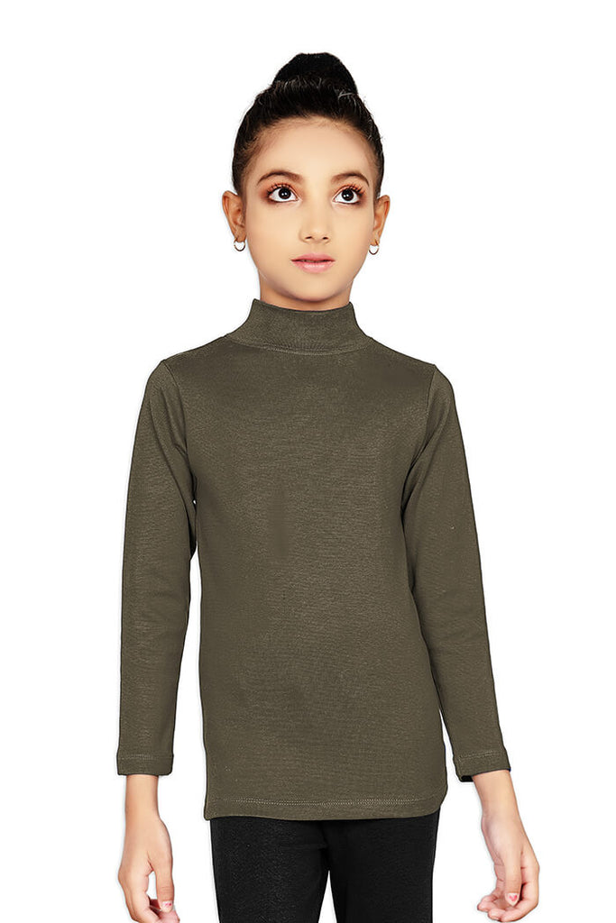 Soft Winter Thermal Hi Neck Shirt