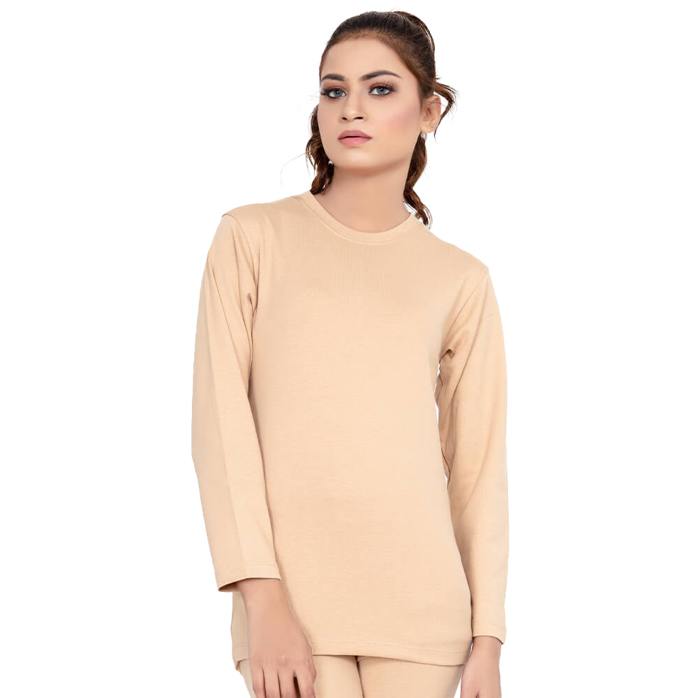 Soft Winter Thermal Crew Neck Shirt