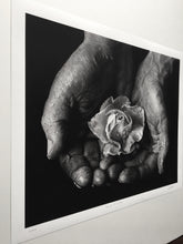 "Load image into Gallery viewer, ""Hands Of A Father"" Print"