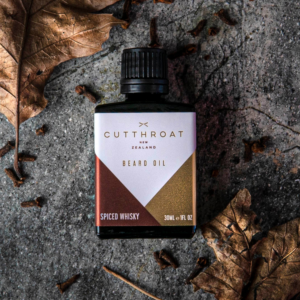Spiced Whisky Beard Oil