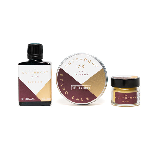 The Tobacconist Beardcare & Moustache Gift Set