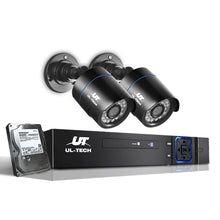Load image into Gallery viewer, UL-Tech CCTV Security System 2TB 4CH DVR 1080P 2 Camera Sets