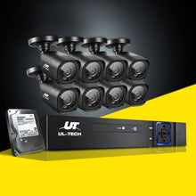 Load image into Gallery viewer, UL-tech CCTV Camera Home Security System 8CH DVR 1080P 1TB Hard Drive Outdoor