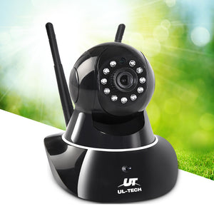 UL Tech 1080P WIreless IP Camera - Black