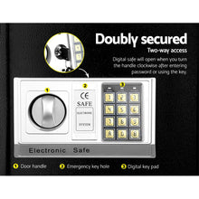 Load image into Gallery viewer, UL-TECH Electronic Safe Digital Security Box 8.5L