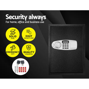 UL-TECH Electronic Safe Digital Security Box LCD Display 50cm