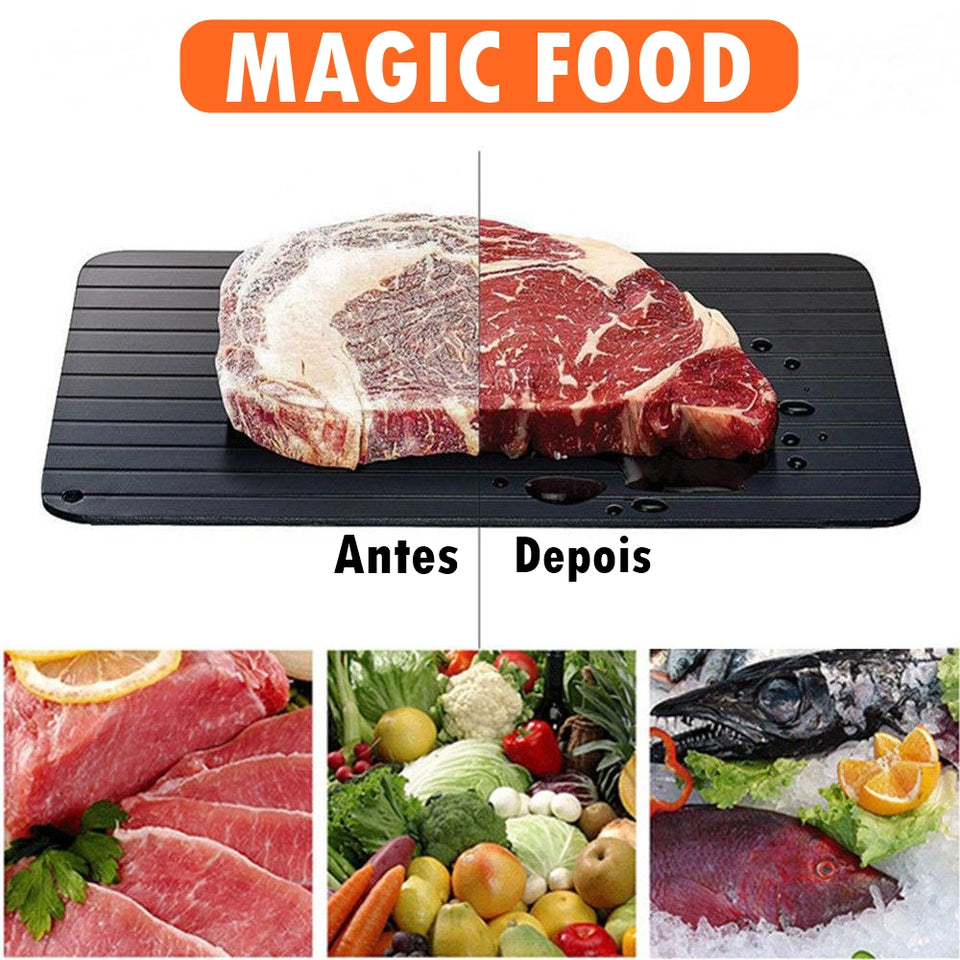 Descongelar Alimentos Rapidamente - MAGIC FOOD