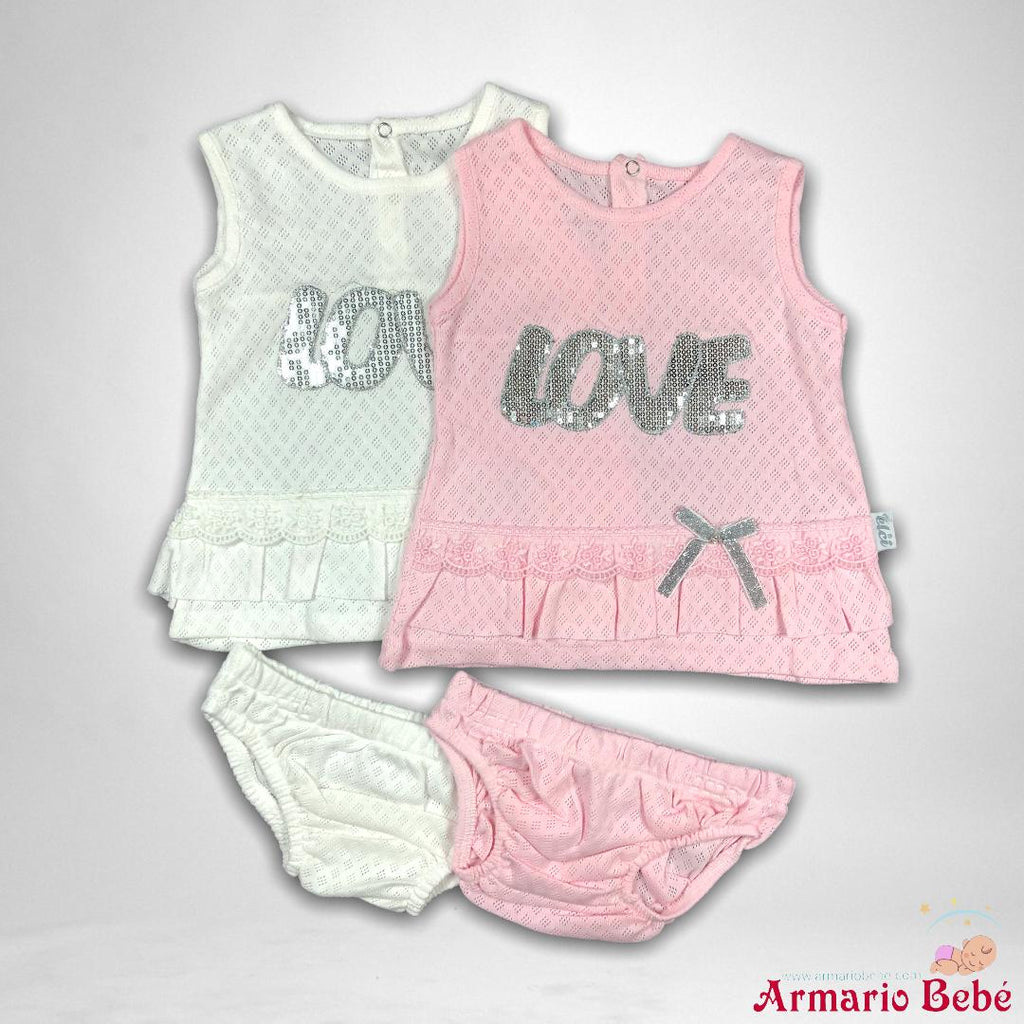 Costum Love 3/6/9 luni