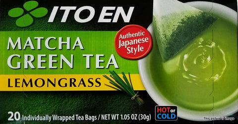 Ito En Matcha Green Tea w/ lemongrass