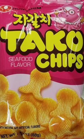 Tako Chips (seafood flavored chips)
