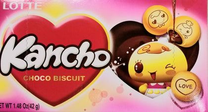 Kancho Biscuit Cookie with Chocolate filling