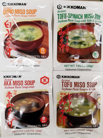 Instant Miso Soup Combo Pack