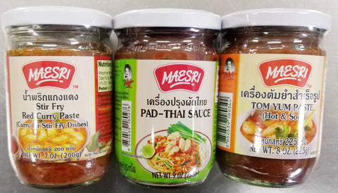 Red Curry/Pad Thai/Tom Yum Sauce Combo