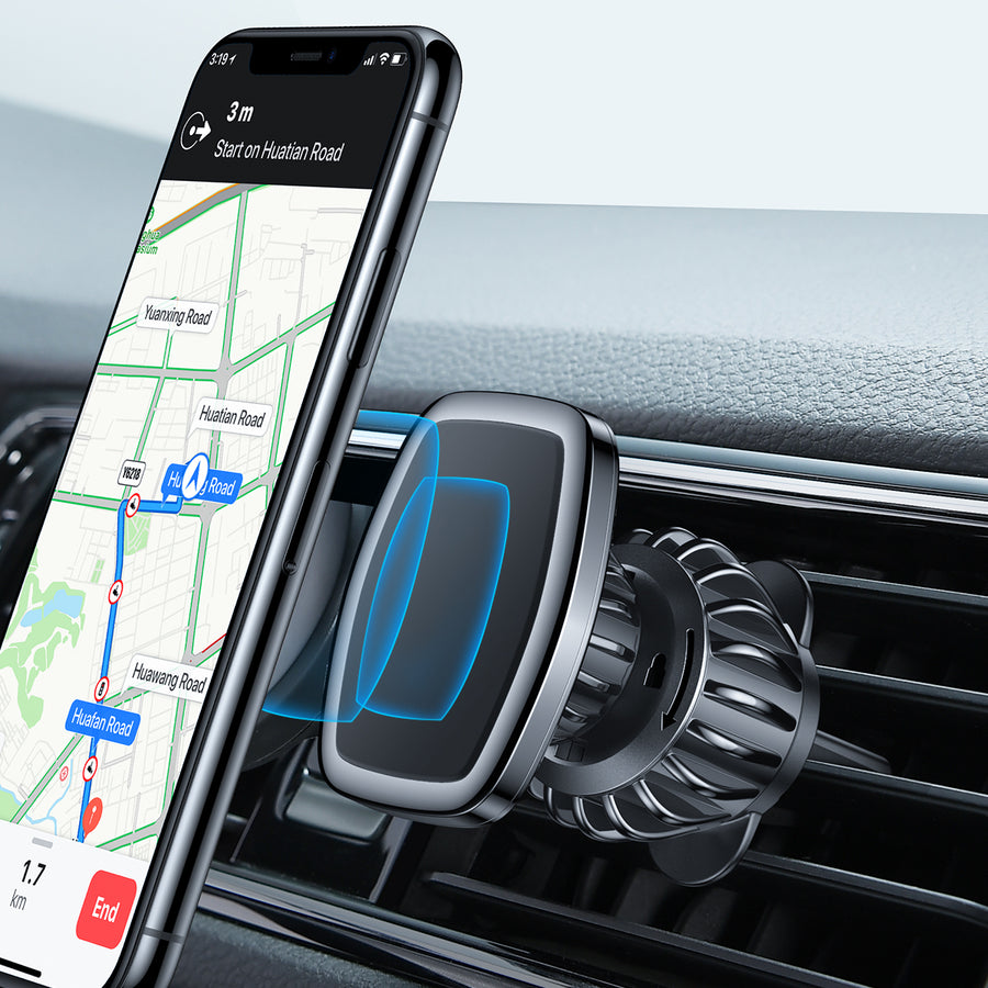 Magnetic Phone Car Mount Compatible with All Smartphone and Tablets