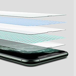 AINOPE 3 Pack Screen Protector Compatible with iPhone 11 Pro, iPhone Xs/X Screen Protector,Install Frame 6X Stronger iPhone 11 Pro/Xs/X Tempered Glass Clear,Case Friendly,5.8 in 2019&2018