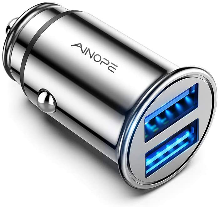 Car Charger 4.8A All Metal Car Charger