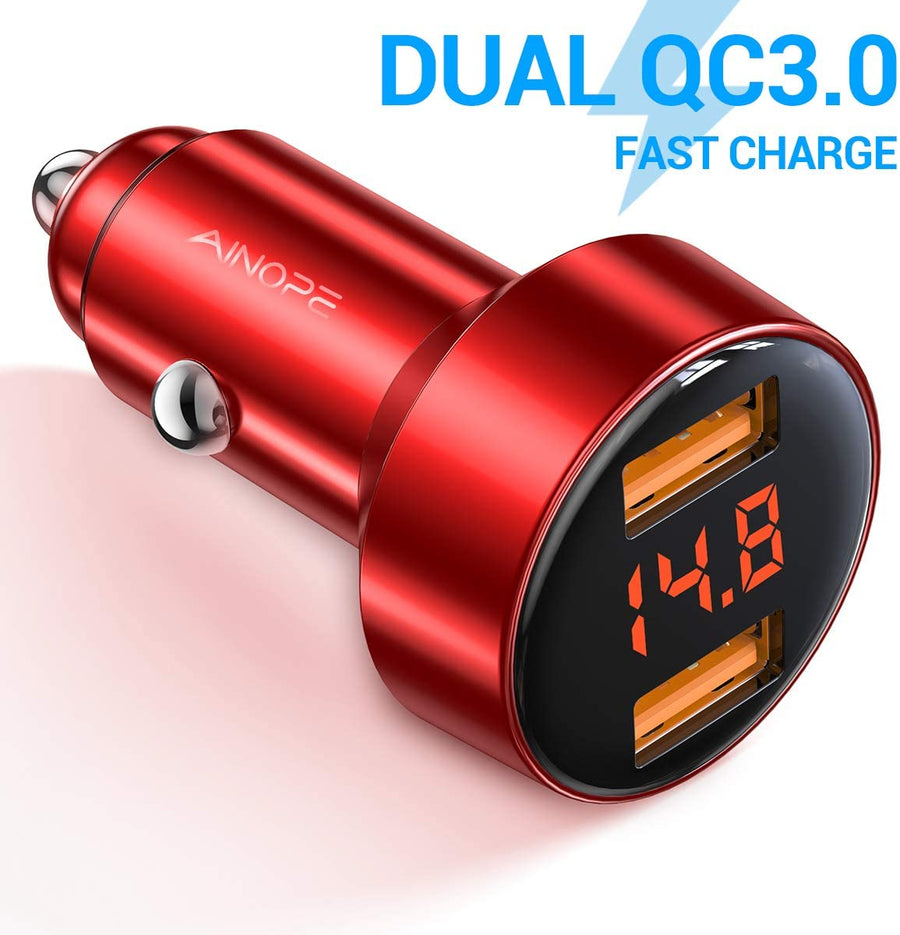Car Charger Adapter QC 3.0