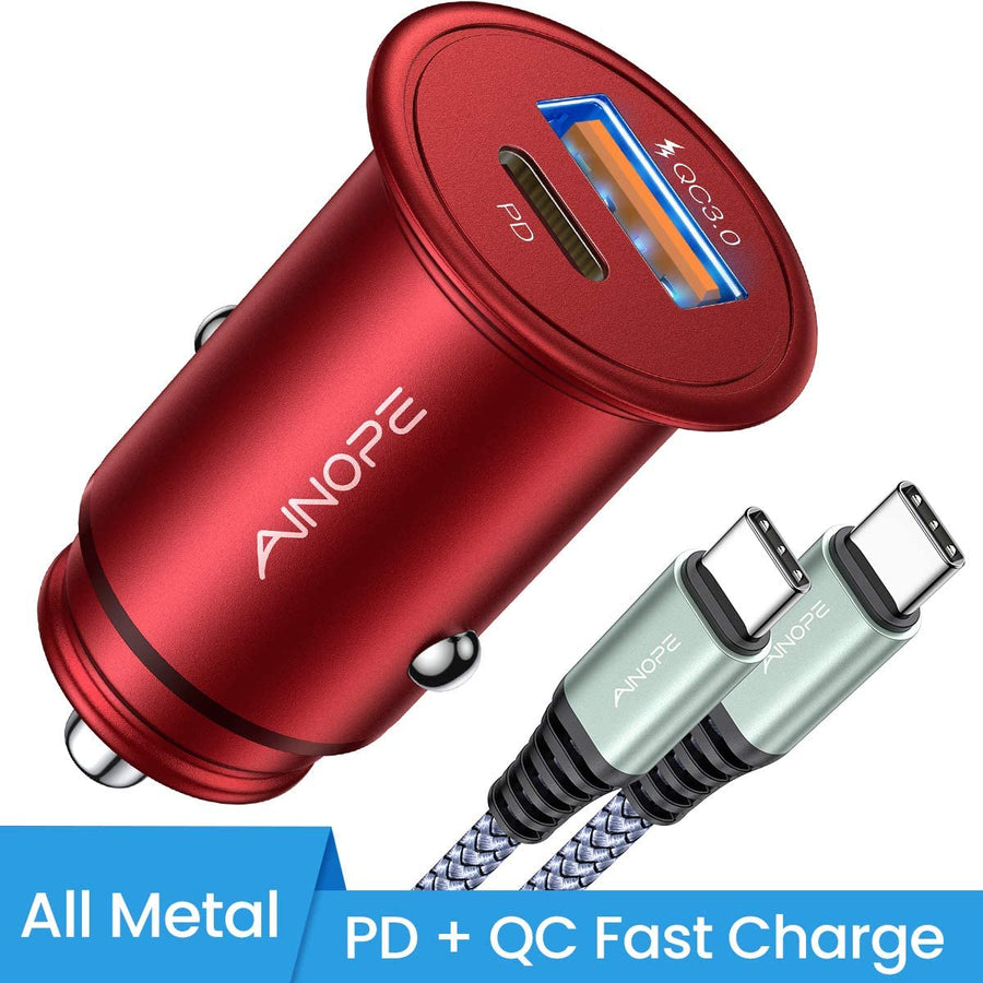 PD&QC 3.0 Car Adapter