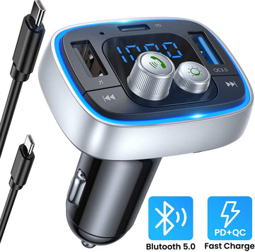 Fm Transmitter Bluetooth for Car