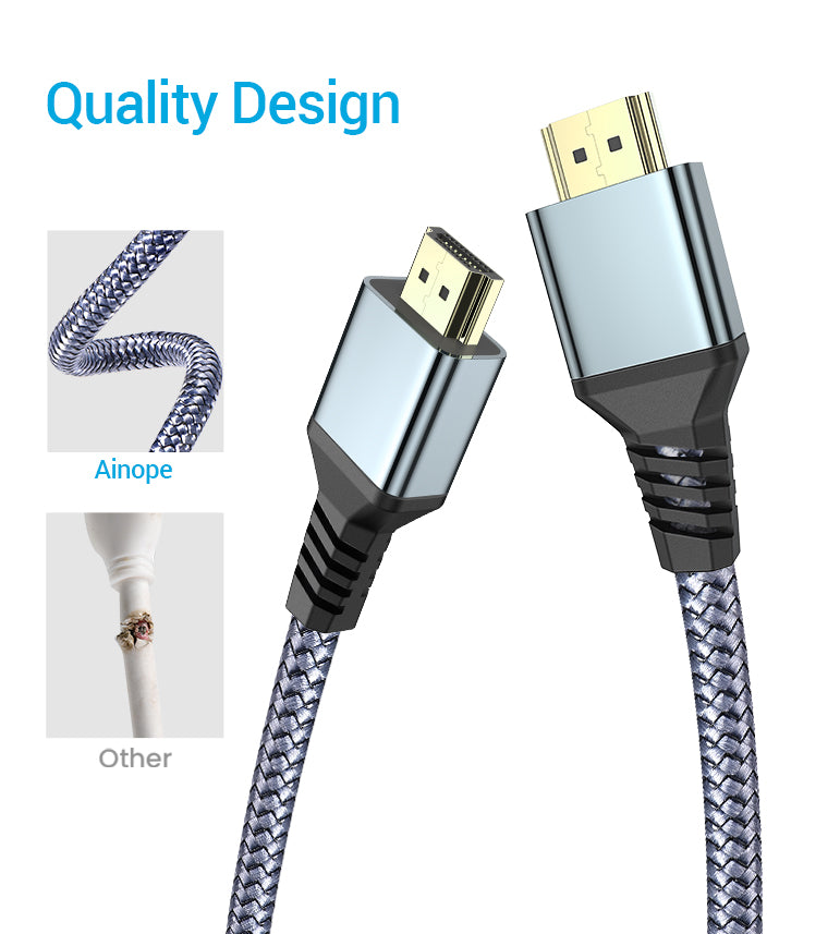 Urltra HD 4K 1080P HDMI Cable For Apple TV