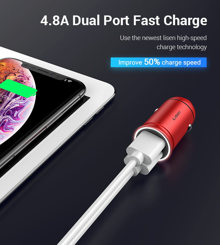 24W Car Charger