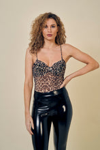 Load image into Gallery viewer, Leopard bodysuit
