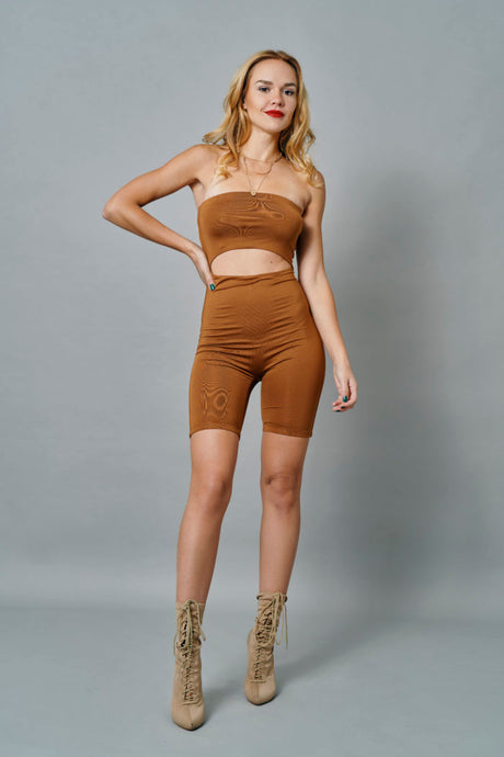 Cut out Playsuit
