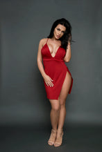 Load image into Gallery viewer, Mia Mini red dress