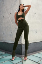Load image into Gallery viewer, Olive jumpsuit MN min