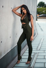 Load image into Gallery viewer, olive-jumpsuit-TN-min
